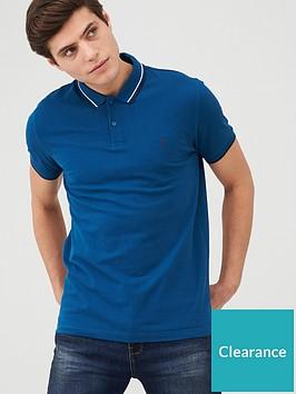 very-man-tipped-pique-polo-top-blue