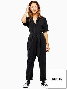 topshop-petite-boiler-suit-washed-black