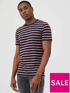 v-by-very-striped-slub-t-shirt-navy