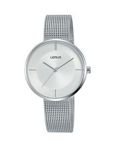 lorus-lorus-silver-dial-stainless-steel-mesh-strap-ladies-watch