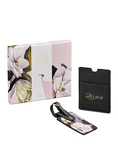 ted-baker-ladies-travel-set-passport-holder-amp-luggage-tag