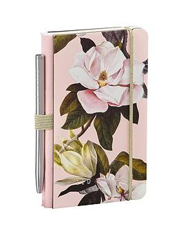 ted-baker-ted-baker-ladies-mini-notebook-pen-pink