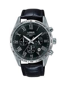 lorus-lorus-black-and-silver-detail-chronograph-dial-black-leather-strap-mens-watch