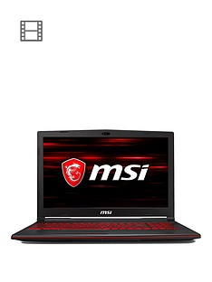 msi-gl63-8se-093uk-intelreg-coretrade-i7-16gb-ram-1tb-hard-drive-amp-128gb-ssd-rtx-2060-6gb-graphics-156-inch-full-hd-gaming-laptop