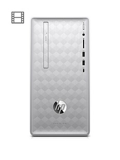 hp-pavilion-590-p0069na-intel-core-i3-8gb-ram-1tb-hard-drive-desktop-pc-natural-silver-with-optional-microsoft-office-365-home-1-year
