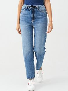 v-by-very-drawcord-waist-mom-jean-mid-wash