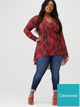 v-by-very-curve-wrap-dip-hem-blouse-red-print