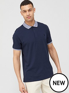 v-by-very-jersey-polo-with-marl-collar-navy