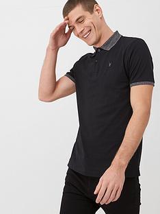 very-man-marl-collar-jersey-polo-shirt-black