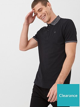 very-man-marl-collar-jersey-polo-shirt-black