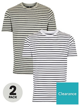 very-man-2-pack-stripe-t-shirts-bluegrey