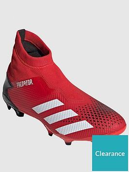 adidas-predator-laceless-193-firm-ground-football-boots-redblack