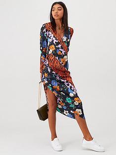 river-island-mixed-print-dress--orange