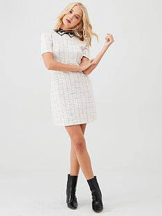 river-island-river-island-embellished-collar-boucle-mini-dress-cream