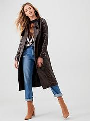 super cute official site nice shoes Trench Coats   River island   Coats & jackets   Women   www ...