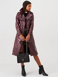 river-island-vinyl-trench-coat--berry