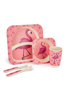 flamingo-bamboo-fibre-5-pc-dinner-set