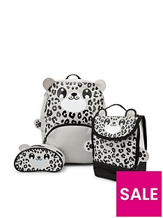 snow-leopard-backpacknbsplunchbag-amp-pencil-case-set
