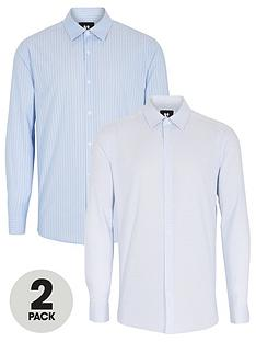 v-by-very-2-pack-work-shirts-multi