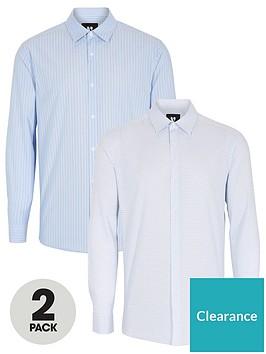 very-man-2-pack-work-shirts-multi