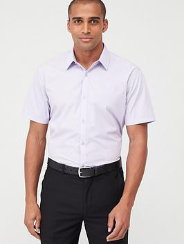 very-man-short-sleeved-easycare-shirt-lilac