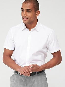 very-man-single-short-sleeved-easycare-shirt-white