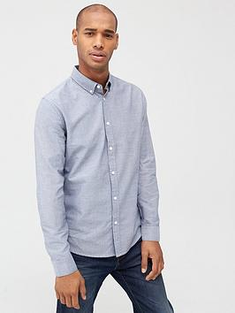 v-by-very-long-sleeved-button-down-oxford-shirt-chambray