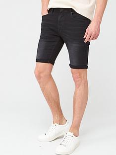 v-by-very-slim-denim-shorts-black