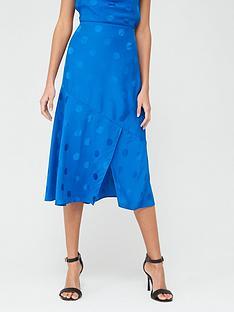 ted-baker-spot-fabric-midi-skirt-blue