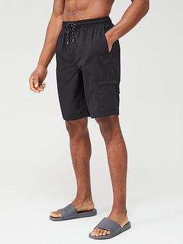 very-man-basic-longer-length-swimshorts-black