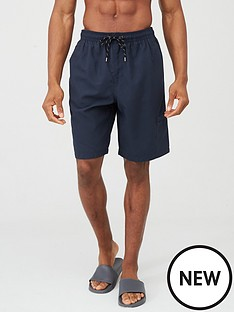 v-by-very-basic-longer-length-swimming-shorts-navy