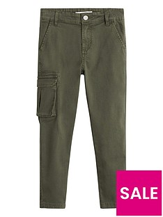 mango-boys-utility-pocket-trousers-khaki