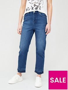 ted-baker-trayla-let-down-impressed-hem-jeans-navy