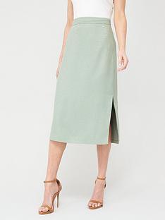 ted-baker-narlica-panel-detail-slit-column-skirt-mint