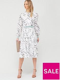 ted-baker-katino-everglade-dip-hem-long-sleeve-dress-white