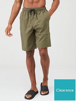 very-man-basic-longer-length-swimming-shorts-khaki