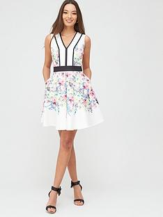 ted-baker-pergola-printed-paneled-skater-dress-ivorynbspbr