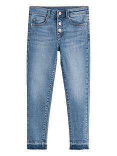 mango-girls-high-waist-frayed-hem-skinny-jeans-mid-wash