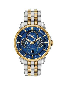 citizen-citizen-eco-drive-moonphase-wr100-blue-and-gold-detail-dial-two-tone-stainless-steel-bracelet-mens-watch