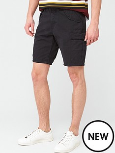 very-man-cargo-shorts-black