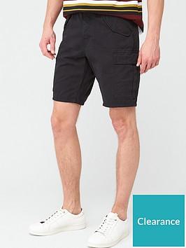 very-man-cargo-shorts-black