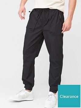 very-man-cuffed-tech-pants-black