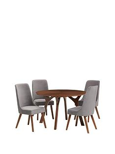 julian-bowen-huxley-120-cm-round-dining-table-and-4-chairs