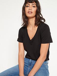 v-by-very-the-basic-v-neck-t-shirt-black