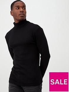 river-island-black-roll-neck-long-sleeve-slim-t-shirt