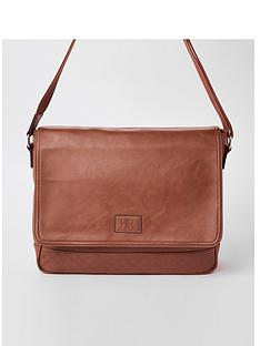 river-island-brown-ri-monogram-flapover-satchel-bag