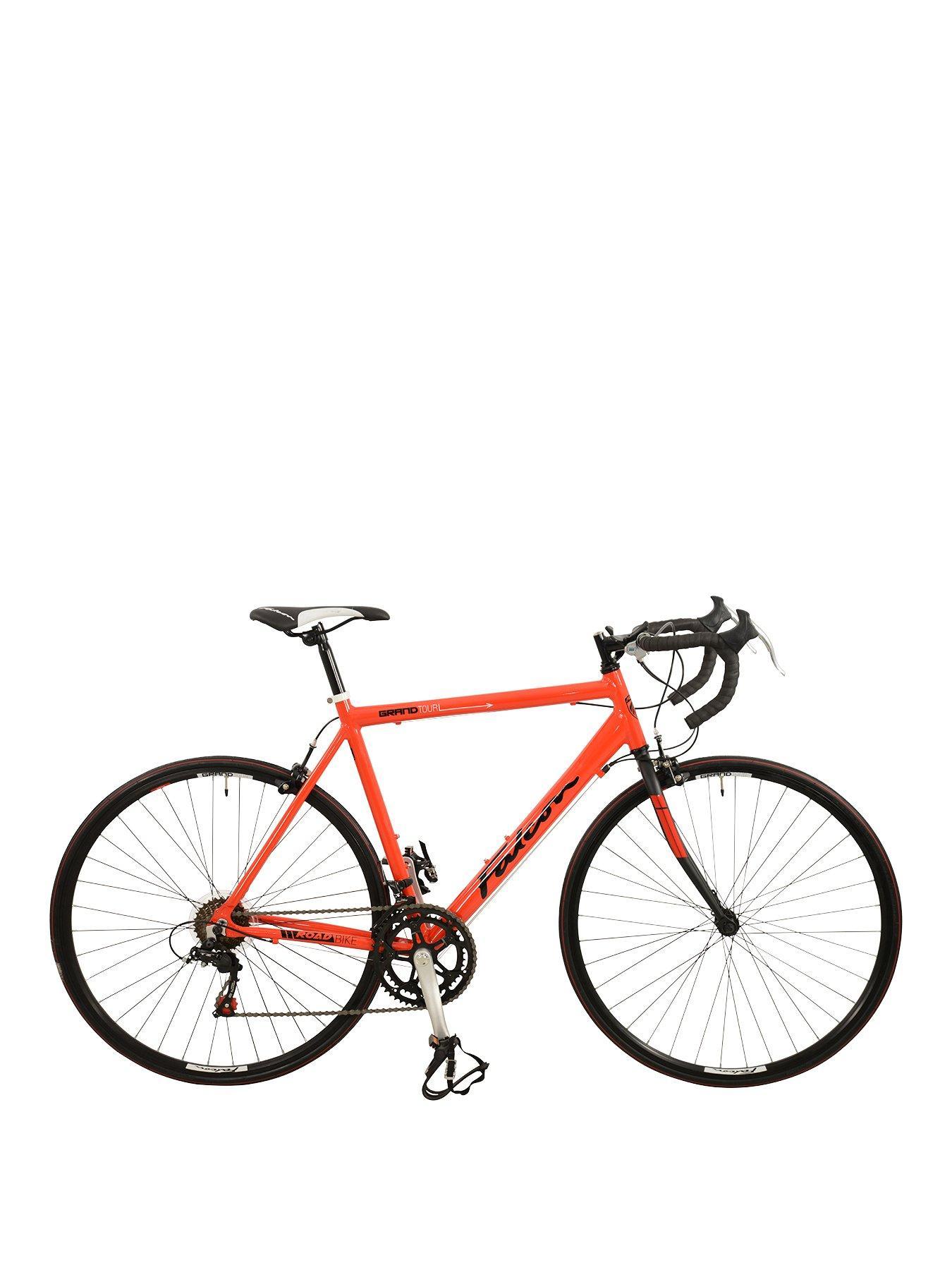 "Front Suspension Bicycle FALCON in ORANGE Teenager Boys 24/"" Raptor KIDS BIKE"