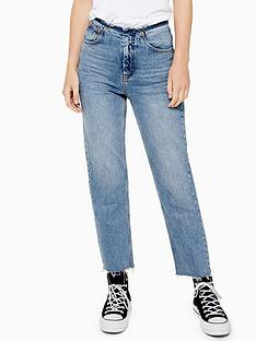 topshop-topshop-raw-waistband-straight-leg-jeans-mid-blue