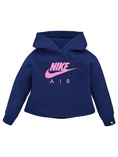 nike-sportswear-air-younger-girls-overhead-hoodie-blue