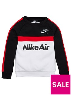 nike-sportswear-air-younger-boys-crew-neck-sweat-shirt-blackred